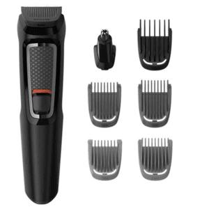 Тример Philips MG3720/15, Изплакващи се приставки, Самонаточващи се ножчета